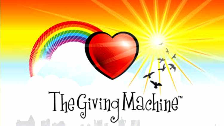 Give for Free when you shop online at TheGivingMachine