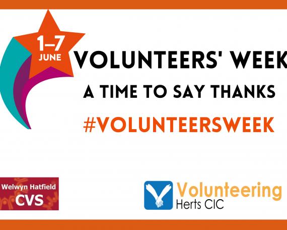 Volunteers Week 1st -7th June 2021