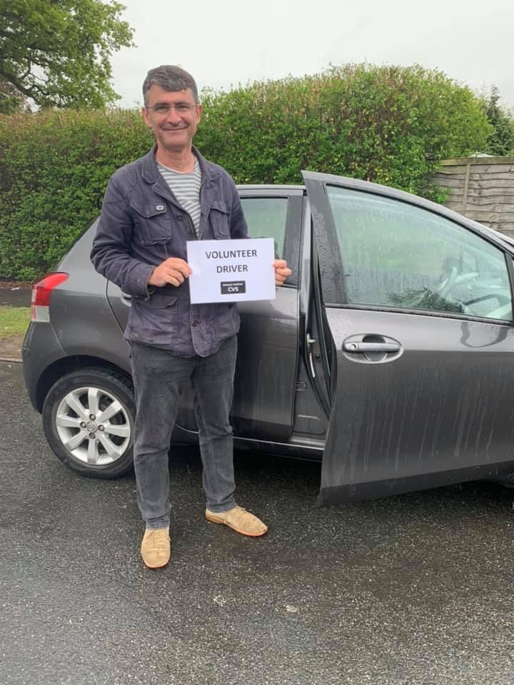 Kevin – Volunteer Driver