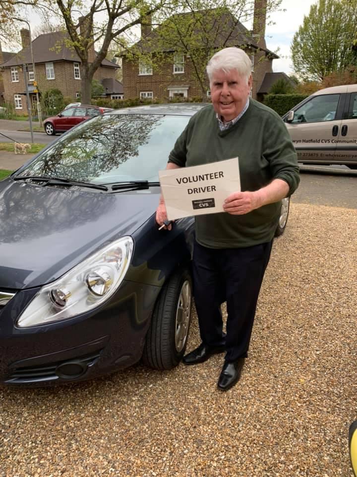 Ted – Volunteer Driver