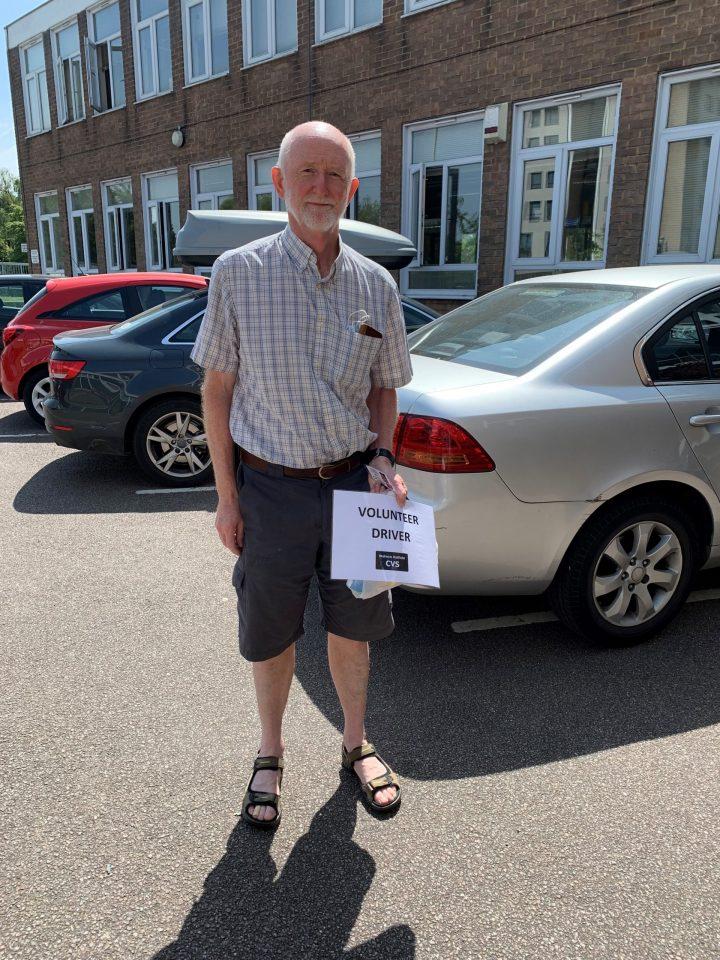 Geoff – Volunteer Driver