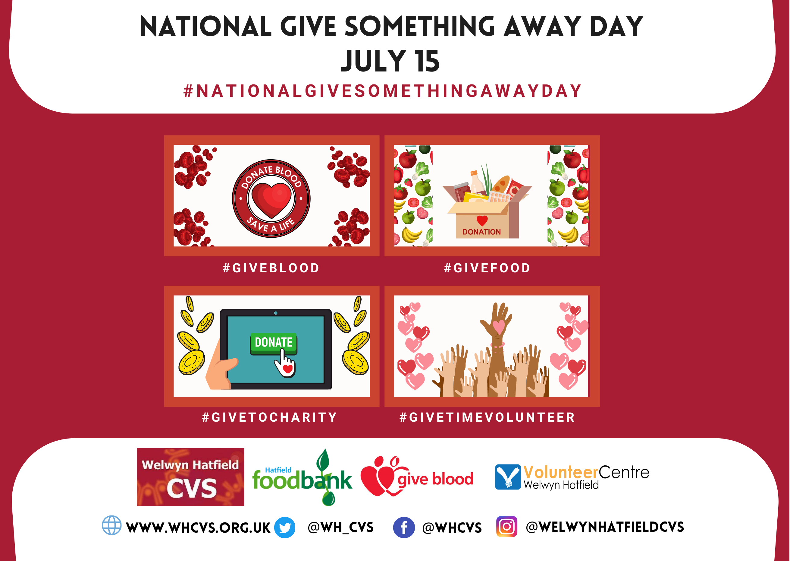 NATIONAL GIVE SOMETHING AWAY DAY POST
